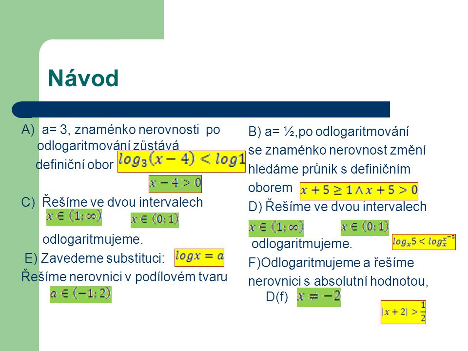 Výsledky A) C) E) B) D) F)