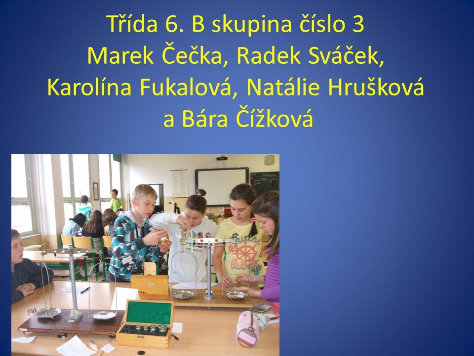 Třída 7. A s paní učitelkou Volavkovou