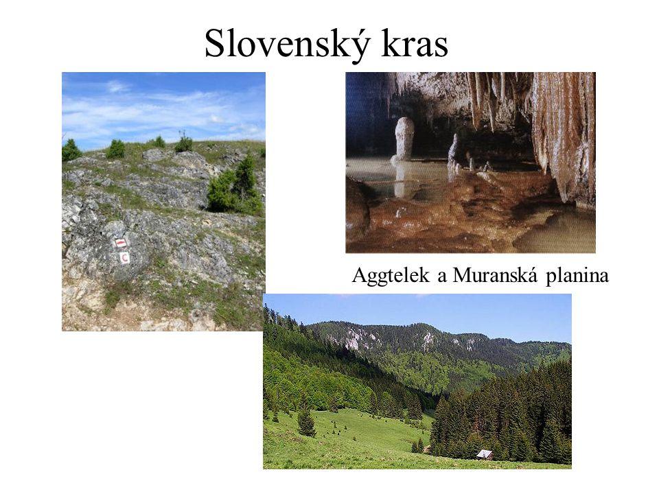 Slovenský kras Aggtelek a Muranská planina