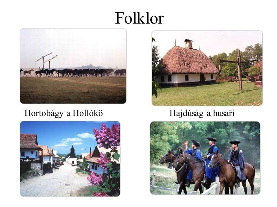 Folklor Hortobágy a HollóköHajdúság a husaři