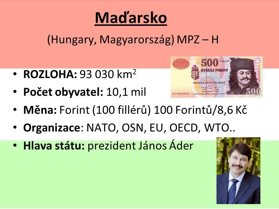 Maďarsko Co si představíš pod tímto pojmem?