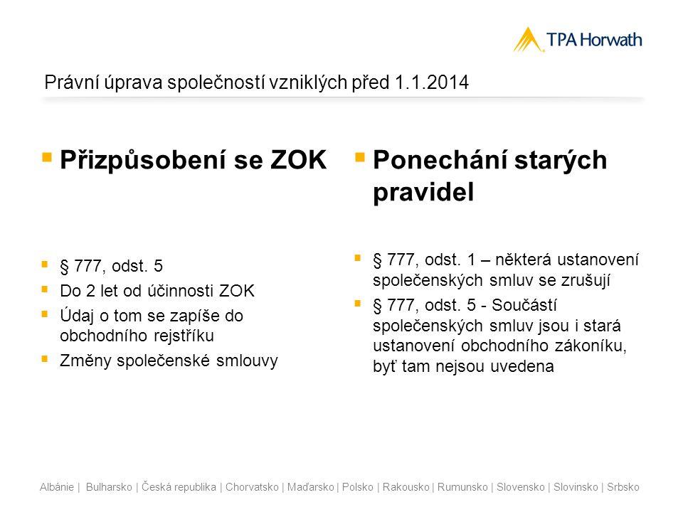 Albánie | Bulharsko | Česká republika | Chorvatsko | Maďarsko | Polsko | Rakousko | Rumunsko | Slovensko | Slovinsko | Srbsko Výpočet zálohy na podíl na zisku Záloha na výplatu podílu na zisku se stanoví jakou součet Výsledku hospodaření běžného účetního období1 000 Plus Nerozdělený zisk minulých let+ 200 Plus Ostatní disponibilní fondy tvořené ze zisku + 0 Mínus Neuhrazená ztráta minulých let - 0 Mínus povinné příděly do fondů- 0 Plus/Mínus Jiný výsledek hospodaření minulých let+/- 0 Maximální částka k vyplacení ???