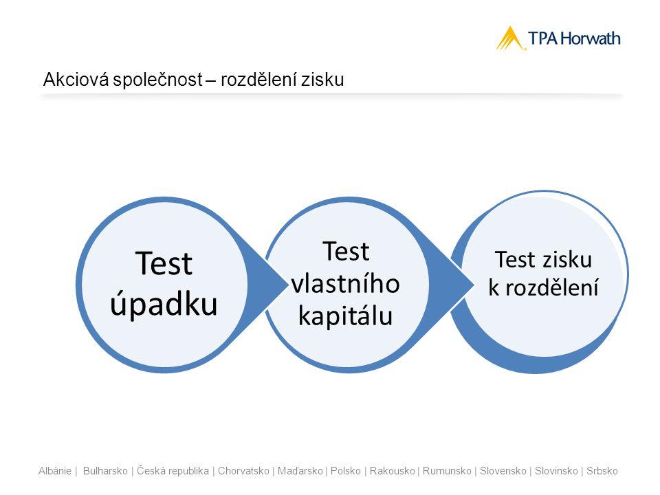 Albánie | Bulharsko | Česká republika | Chorvatsko | Maďarsko | Polsko | Rakousko | Rumunsko | Slovensko | Slovinsko | Srbsko Akciová společnost – roz