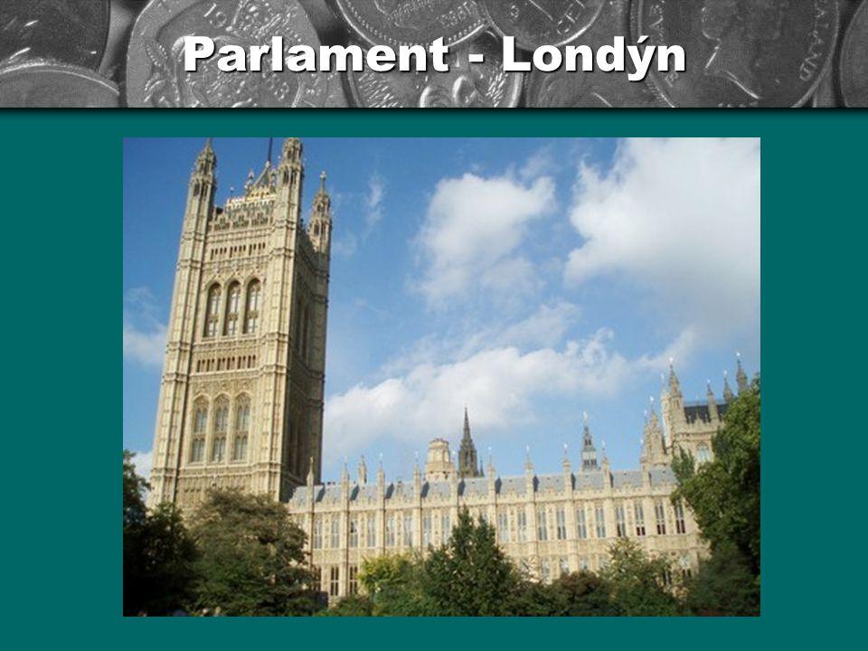 Parlament - Londýn