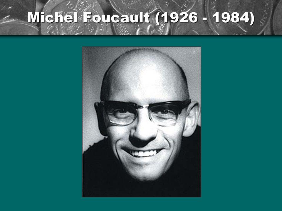 Michel Foucault: Většina organizací pracuje s nějakou formou dohledu nadřízených nad podřízenými.