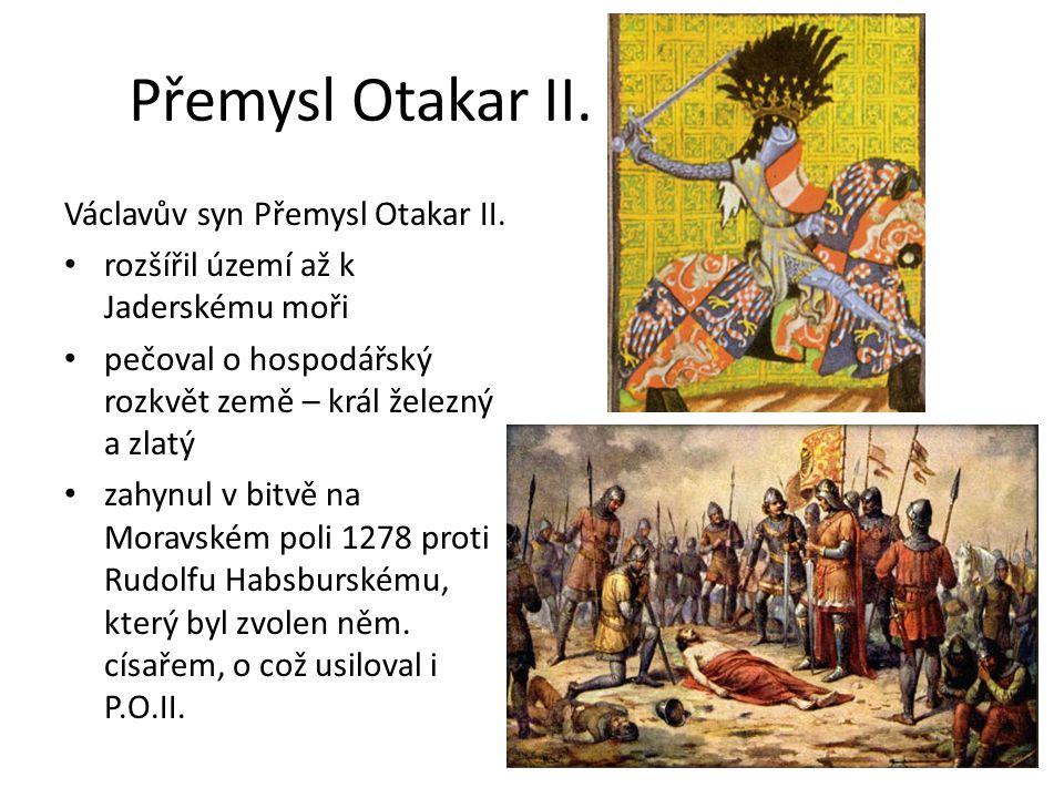 Český stát za Přemysla Otakara II.
