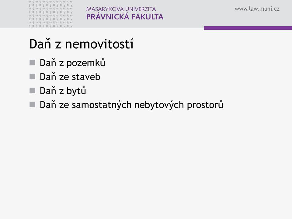 www.law.muni.cz Hlavní problémy regulace DzNem de lage lata Nízký výnos DzNem Základ DzNem Správce DzNem Informovanost obcí o daňových dlužnících 9