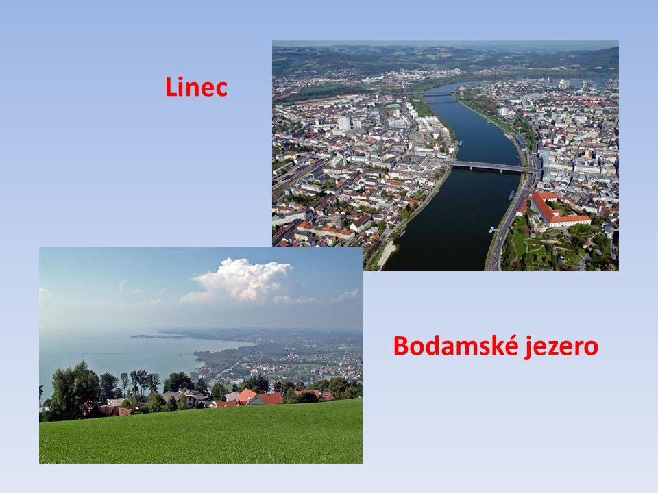 Bodamské jezero Linec