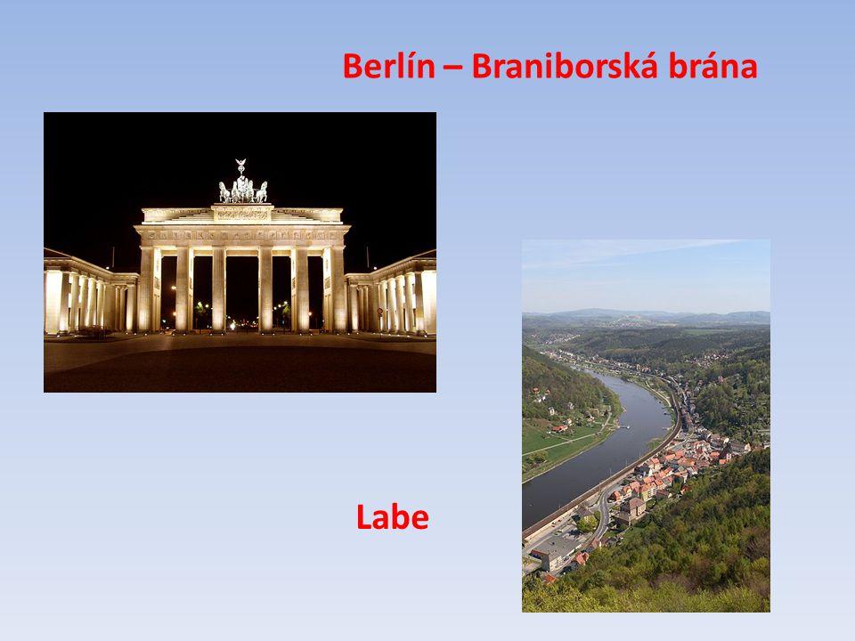Berlín – Braniborská brána Labe