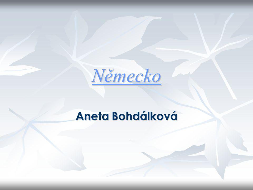 Německo Aneta Bohdálková