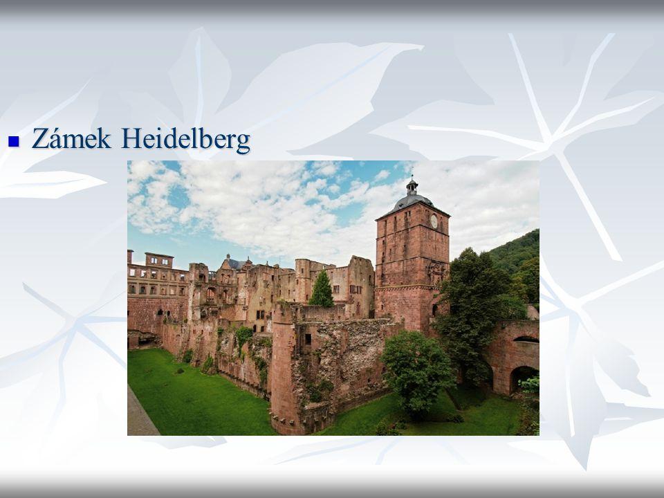Zámek Heidelberg Zámek Heidelberg