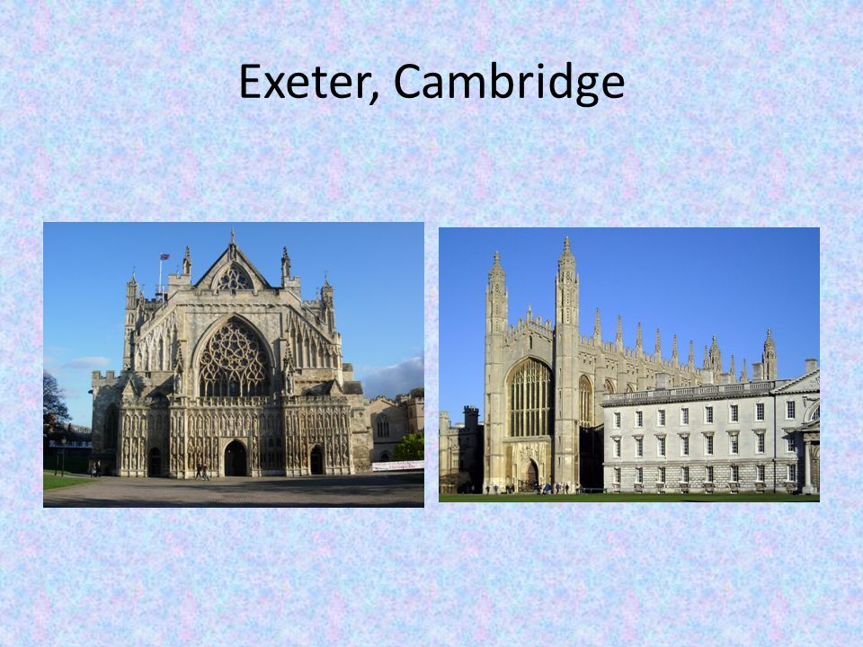 Exeter, Cambridge
