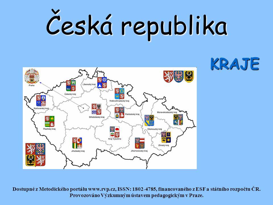 Česká republika KRAJE Dostupné z Metodického portálu www.rvp.cz, ISSN: 1802-4785, financovaného z ESF a státního rozpočtu ČR.