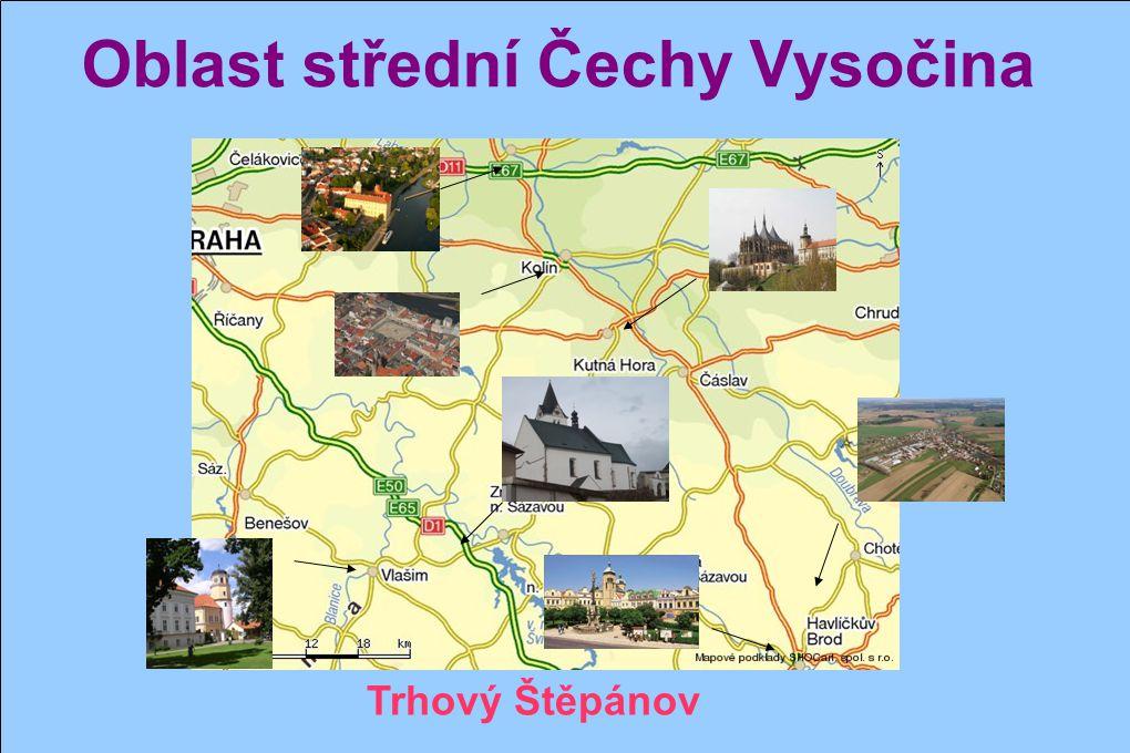 Oblast střední Čechy Vysočina A nesmíme zapomenout na naši samostatnou stanici