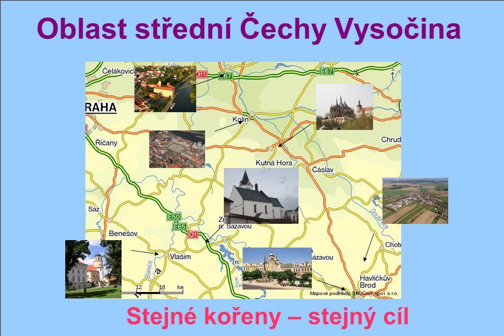 Oblast střední Čechy Vysočina Trhový Štěpánov