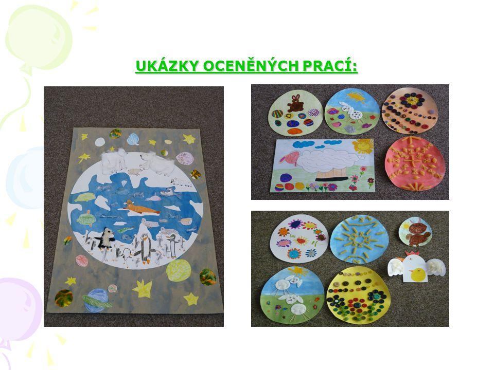 Děti se velmi rády zúčastňují různých výtvarných soutěží. V minulém školním roce jsme dostali několik ocenění UKÁZKY OCENĚNÝCH PRACÍ: