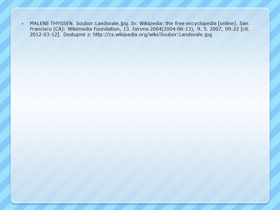 MALENE THYSSEN.Soubor:Landsvale.jpg. In: Wikipedia: the free encyclopedia [online].