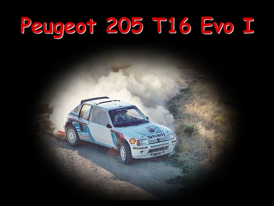 Peugeot 205 T16 Evo I