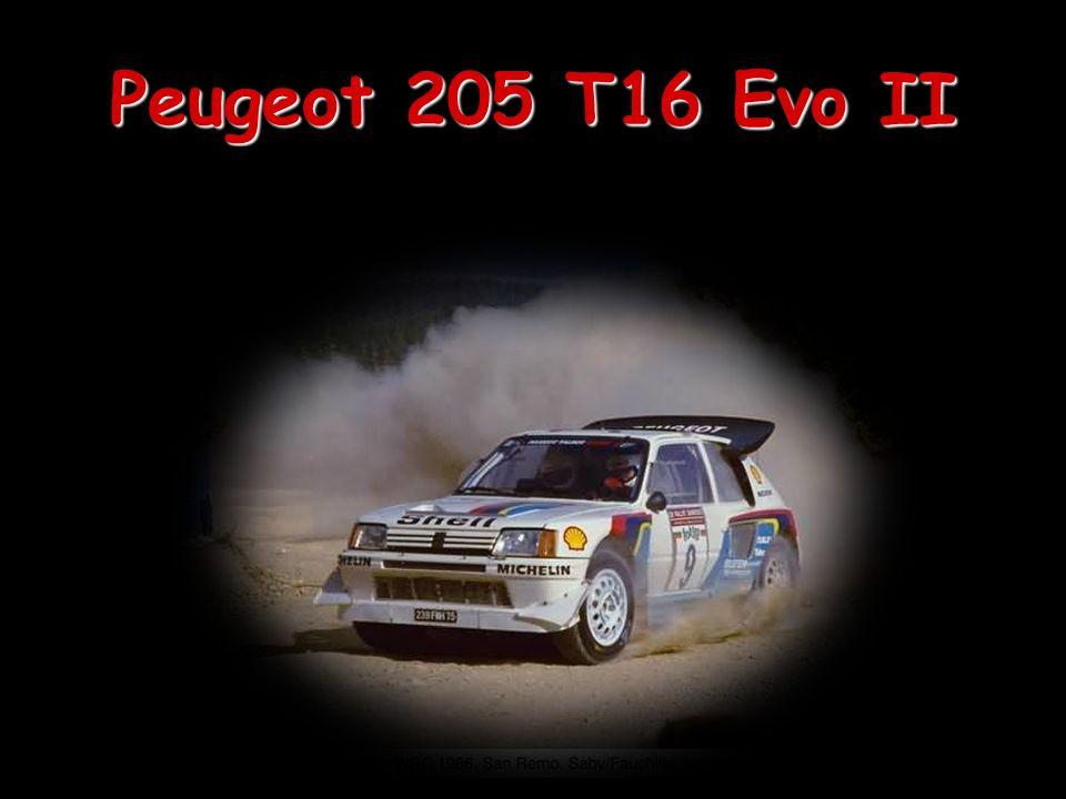 Peugeot 205 T16 Evo II