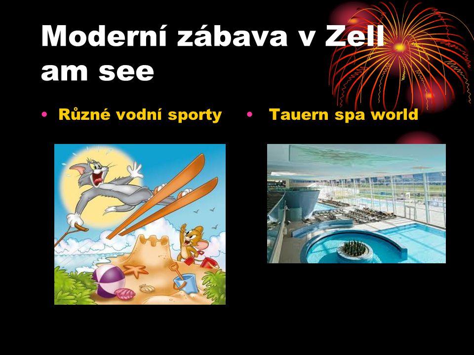 Moderní zábava v Zell am see Tauern spa worldRůzné vodní sporty
