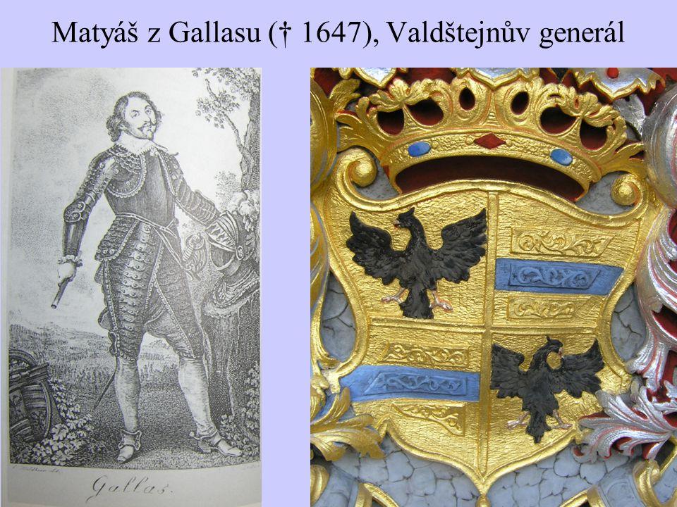 Matyáš z Gallasu († 1647), Valdštejnův generál