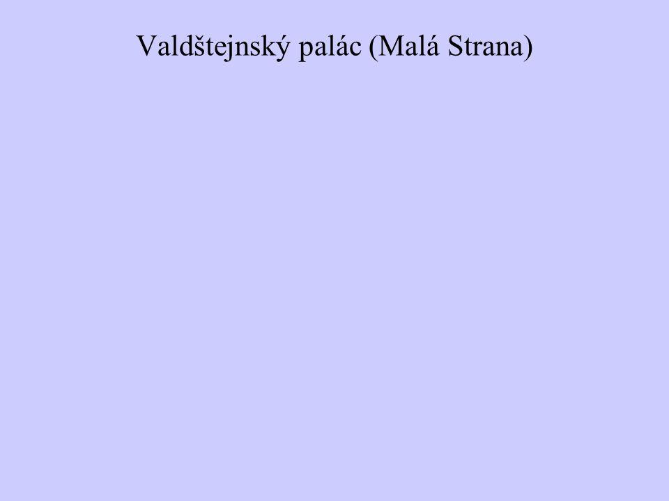 Valdštejnský palác (Malá Strana)