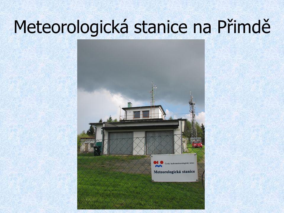 Meteorologická stanice na Přimdě