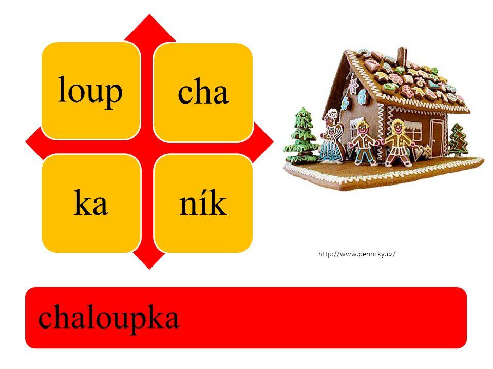 loup chakaník chaloupka http://www.pernicky.cz/
