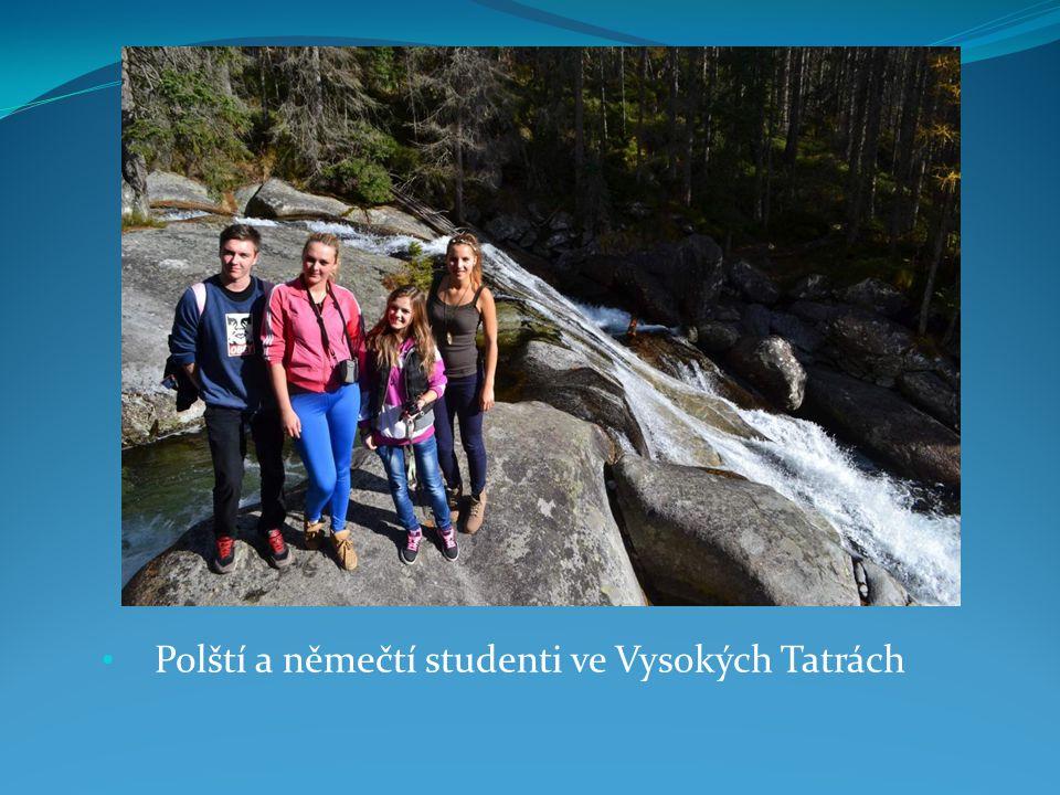 Polští a němečtí studenti ve Vysokých Tatrách