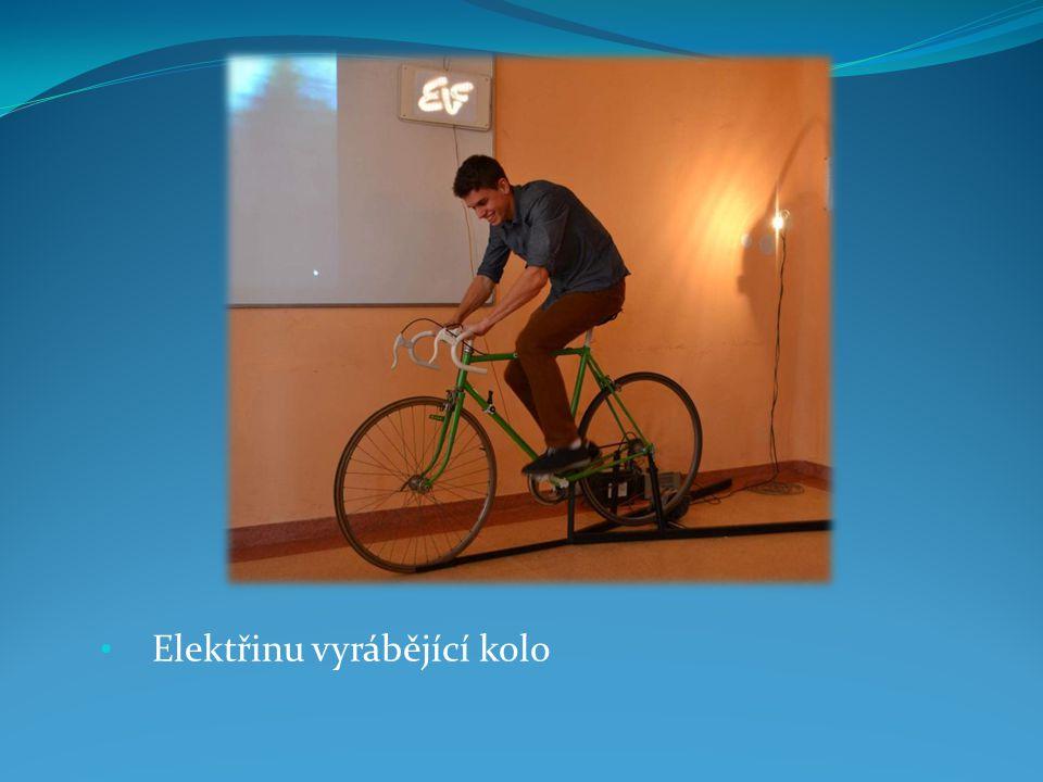 Elektřinu vyrábějící kolo