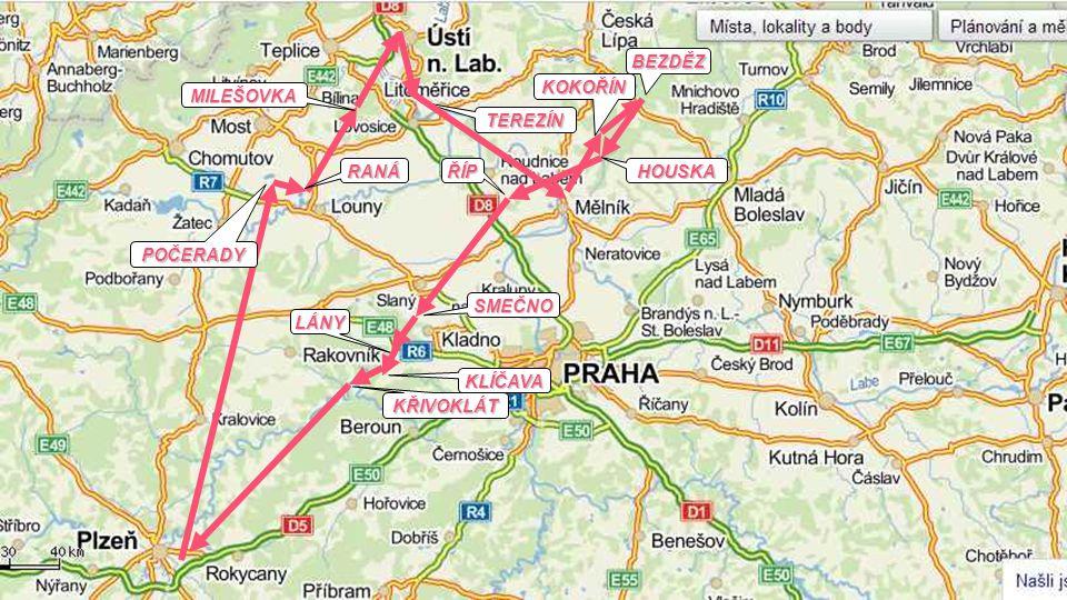 Co tak letět na Ústí nad Labem a k Bezdězu?
