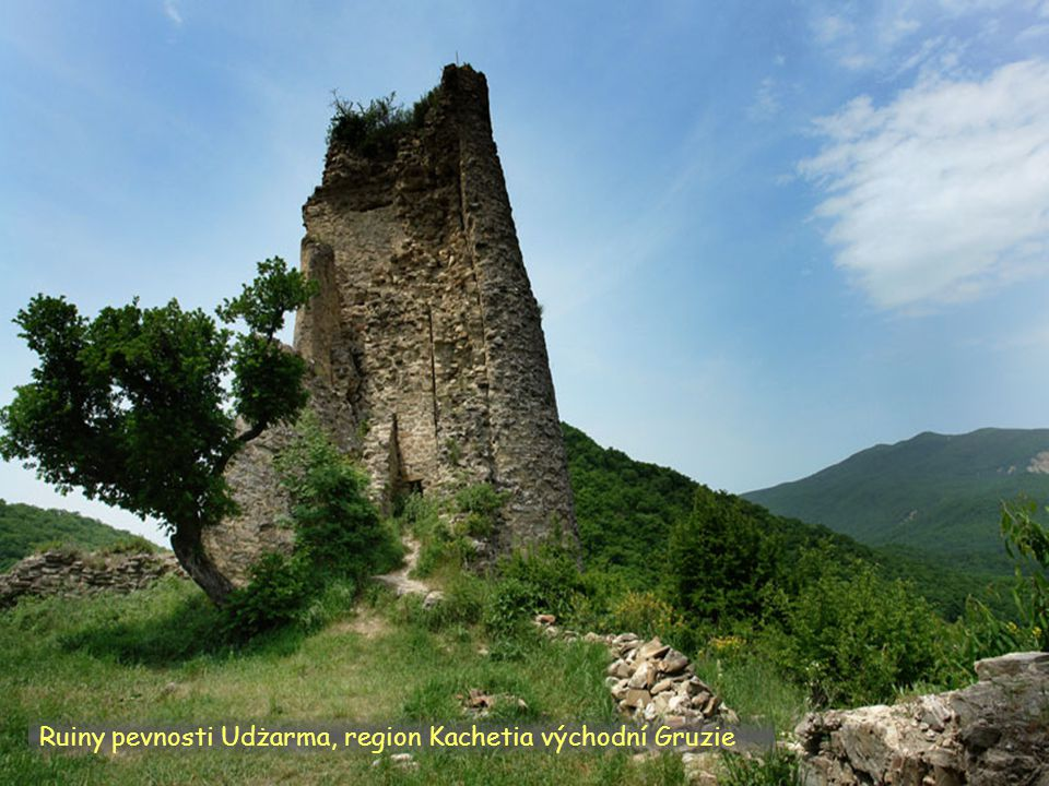 Daktylek Kachetia vých. region u obce Omalo