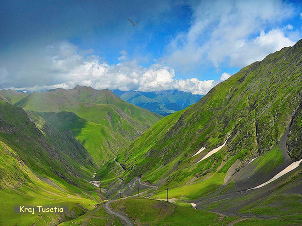 Daktylek Kraj Mtianetia pohoří Chaukhi