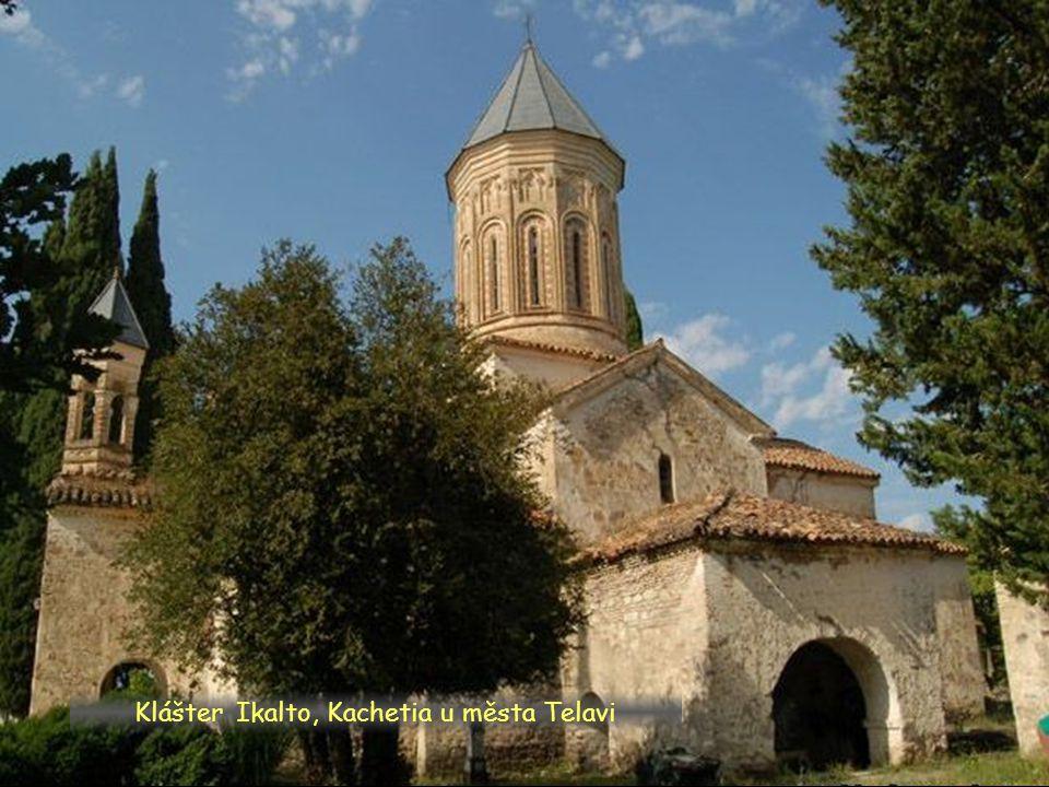 Daktylek Dawid Garedża – komplex klášterů v Kachetii vých. Gruzie