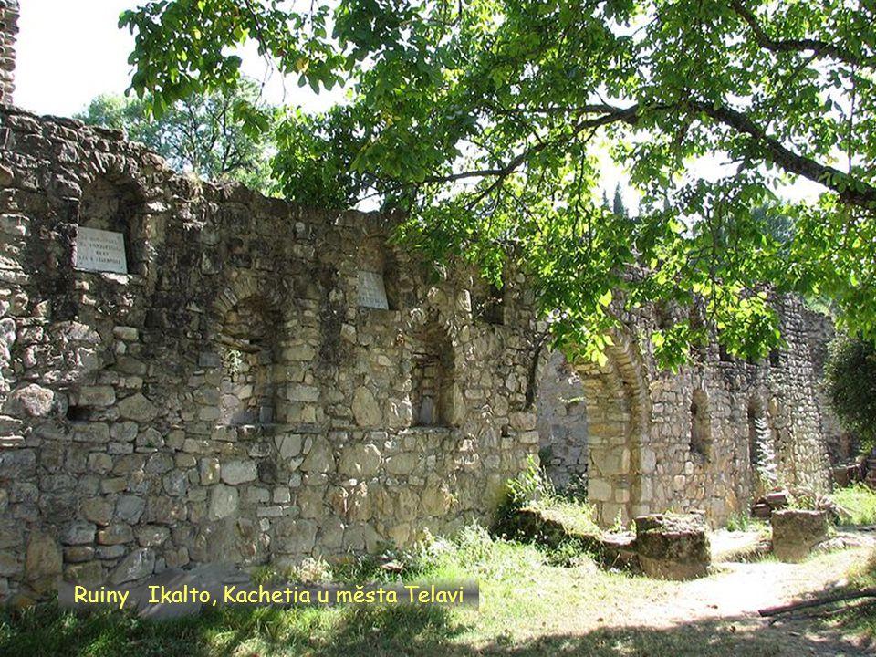 Daktylek Klášter Ikalto, Kachetia u města Telavi