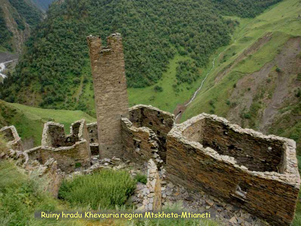 Daktylek Khevsuria, region Mtskheta-Mtianeti