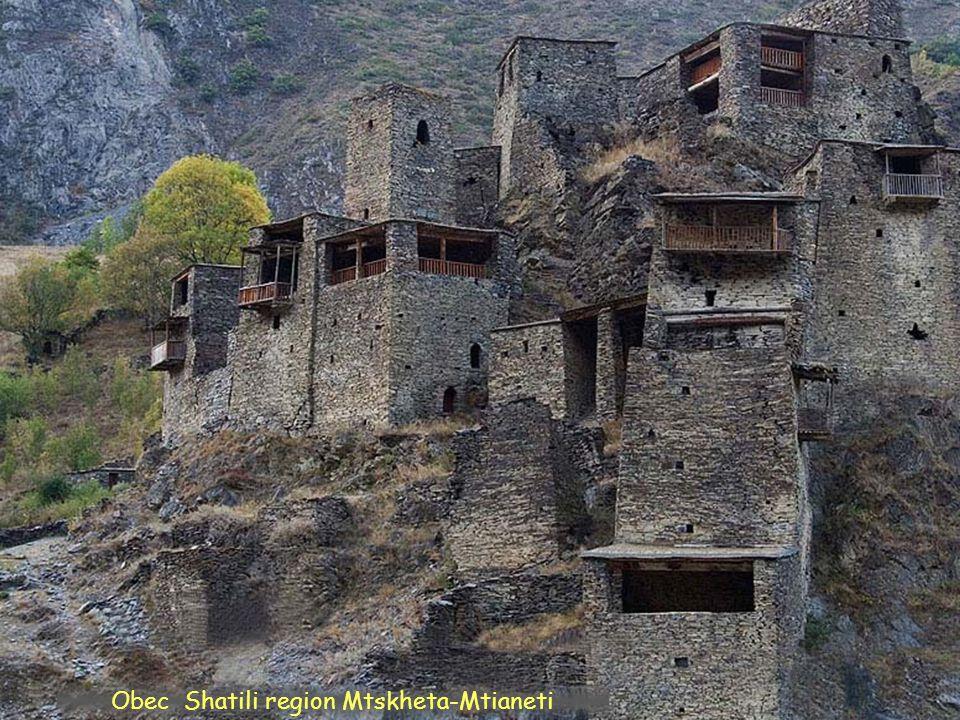 Daktylek Údolí Shatili region Mtskheta-Mtianeti