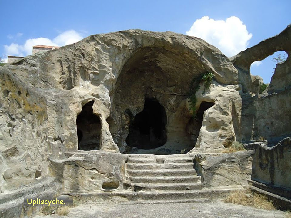Daktylek Ruiny pevnosti Udżarma, region Kachetia východní Gruzie