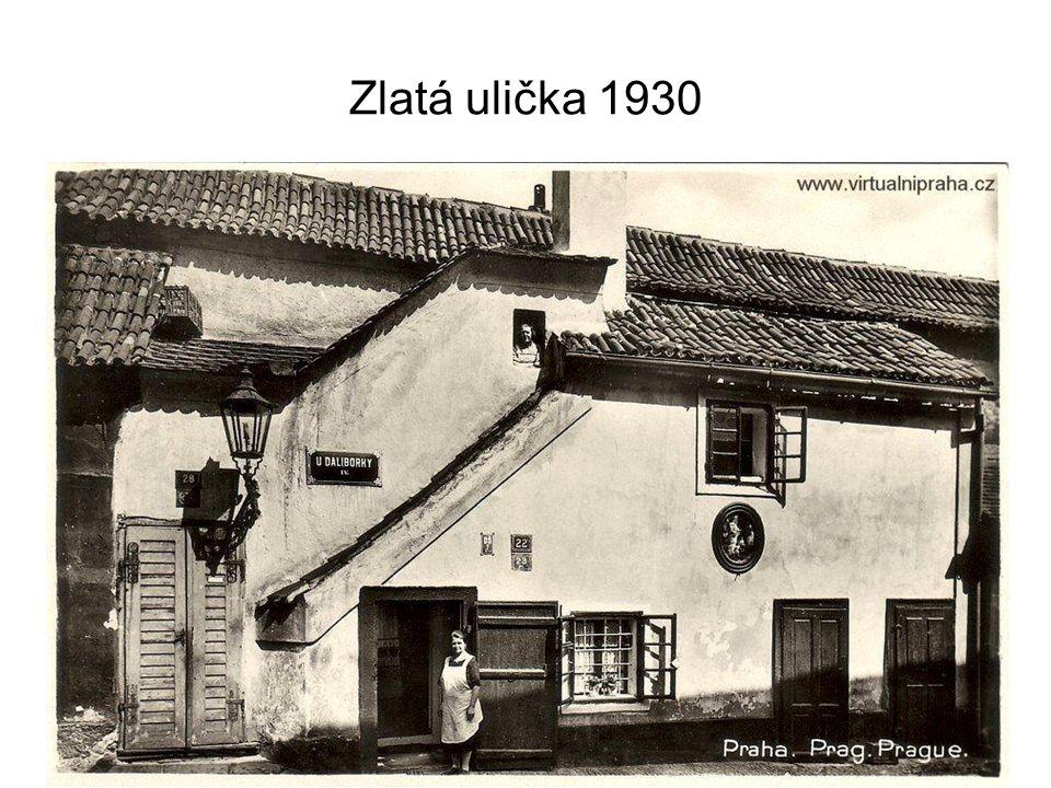 Zlatá ulička 1905 - 2007