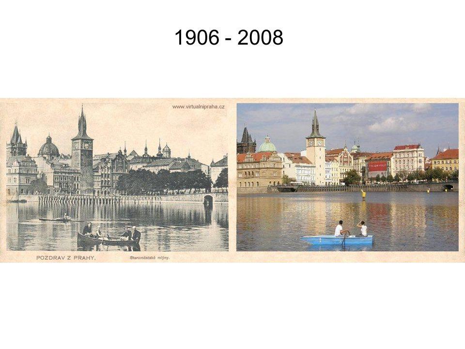 Praha kdysi a dnes K posunu užijte myšku !!! hudba: Praha je Praha zpívá Ljuba Hermanová