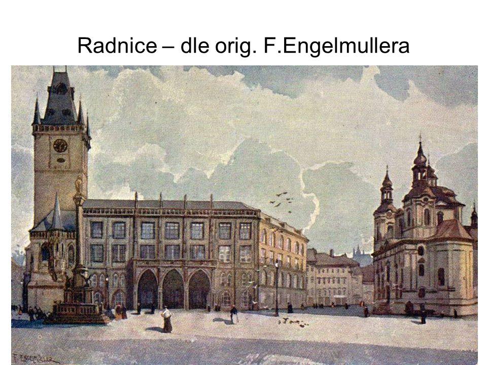 Staroměstská radnice 1917