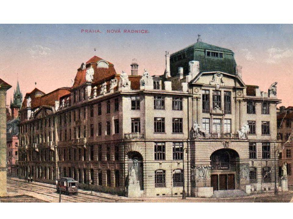 Staroměstská radnice – zničená 8.5.1945