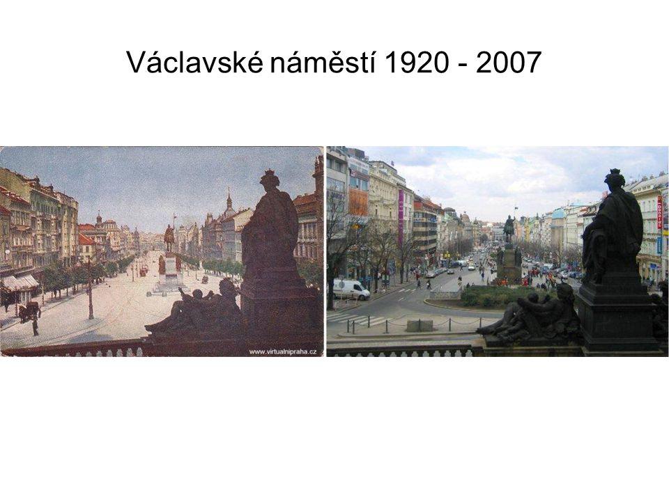 Václavské náměstí 1920 - 2007