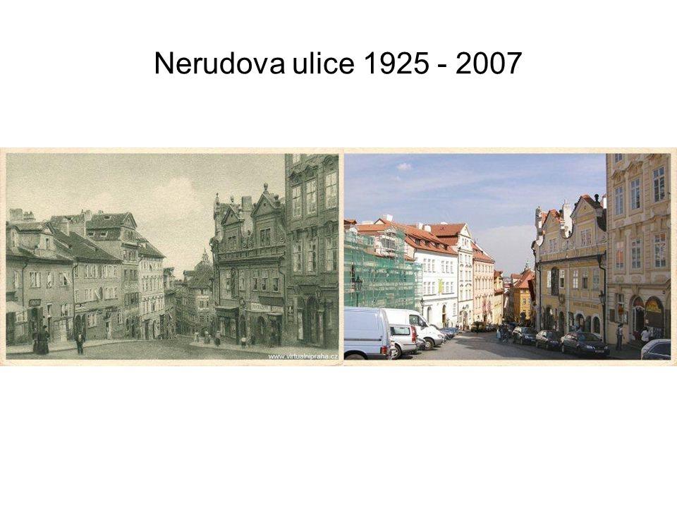 Václavské náměstí 1936 - 2007