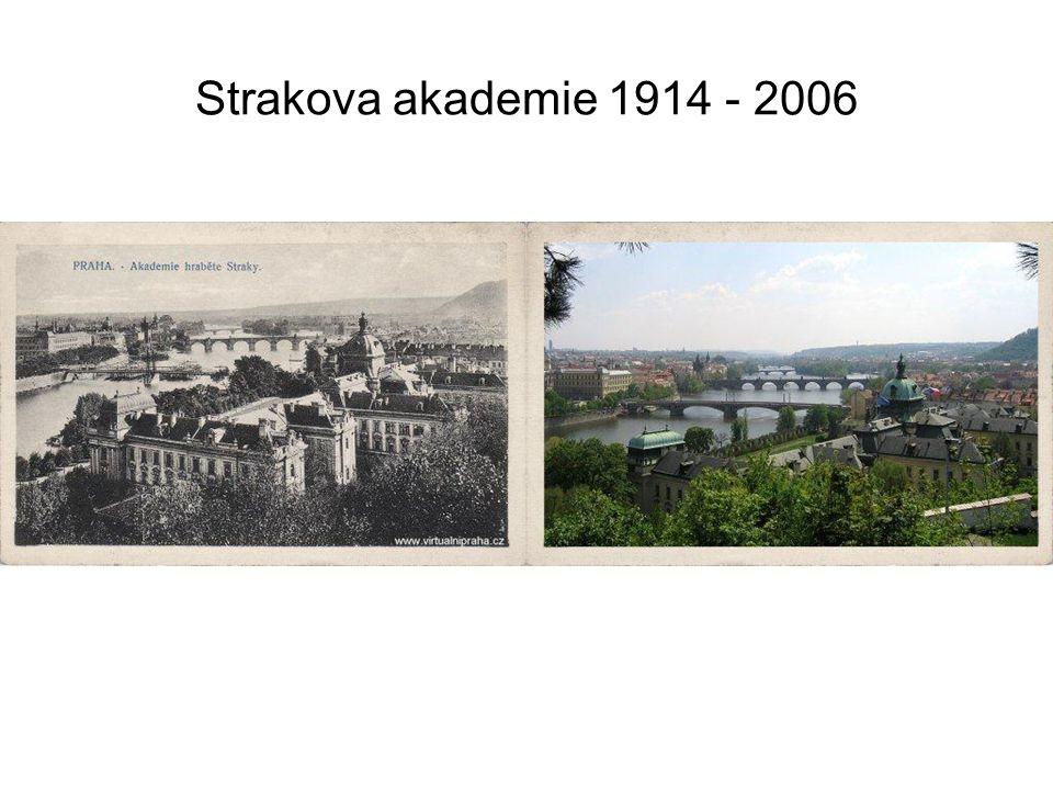 Nerudova ulice 1925 - 2007