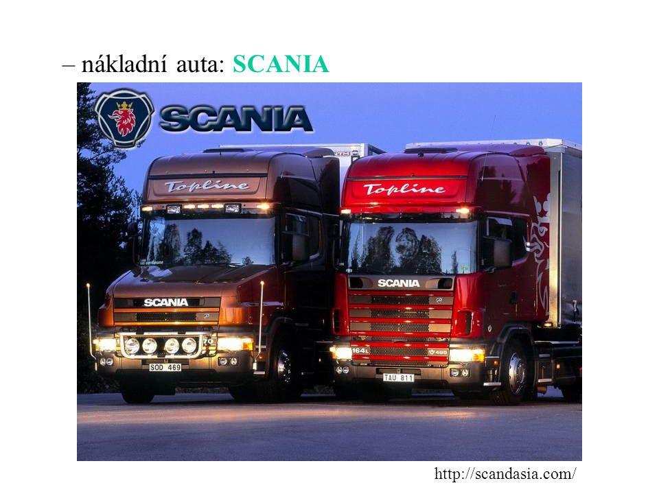strojírenství – osobní auta: SAAB, VOLVO http://carsfolia.com/ www.arho.cz