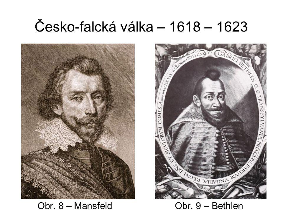 Česko-falcká válka – 1618 – 1623 Ferdinand II.