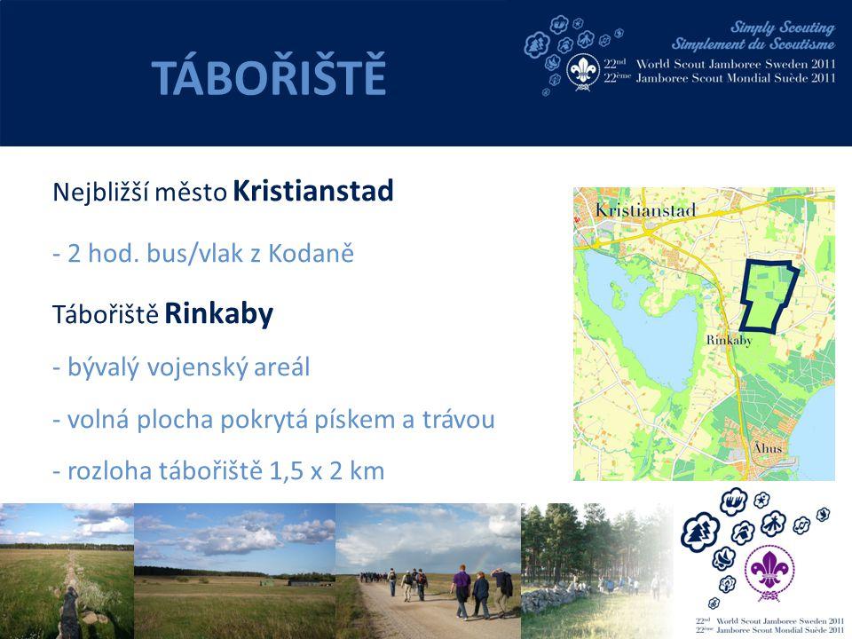 Nejbližší město Kristianstad - 2 hod.