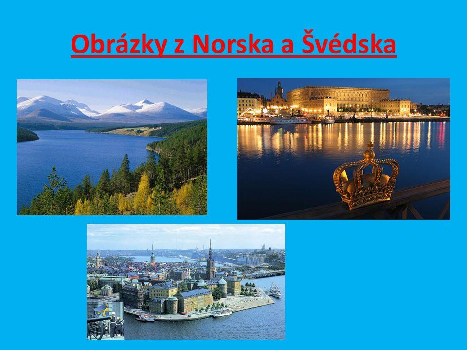 Obrázky z Norska a Švédska
