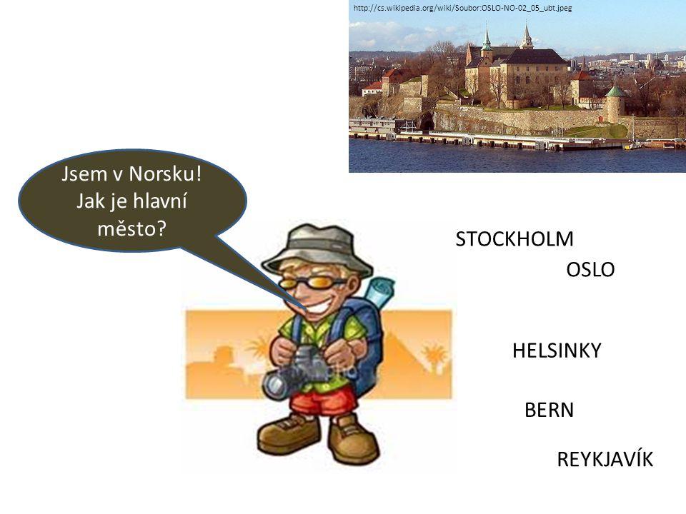 Jsem v Norsku.Jak je hlavní město.